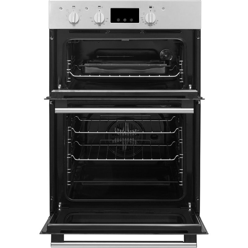 Hotpoint-Double-oven-DD2-544-C-IX-Inox-A-Frontal-open