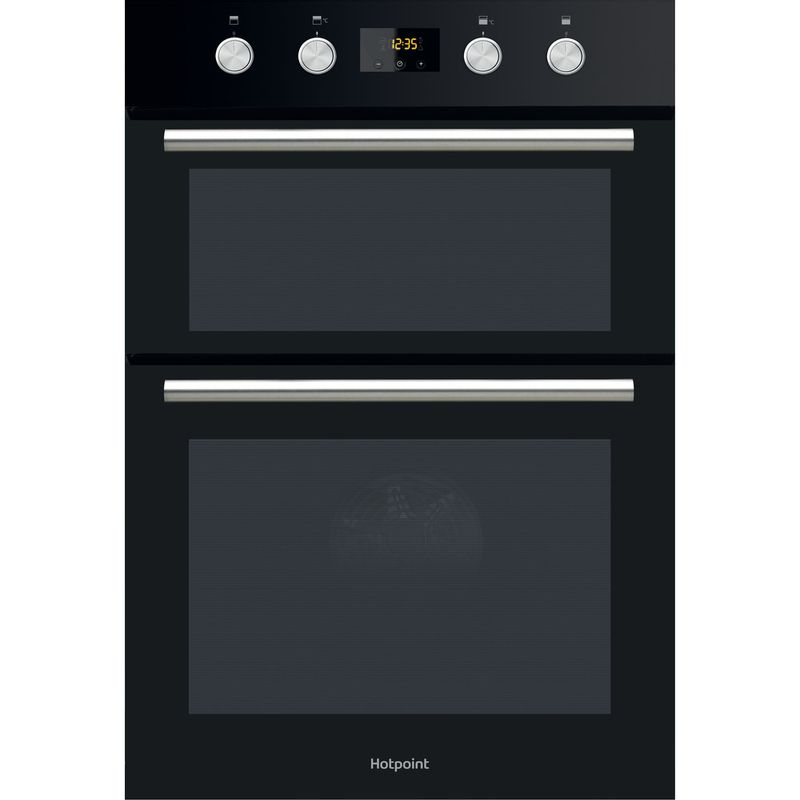 Hotpoint-Double-oven-DD2-844-C-BL-Black-A-Frontal