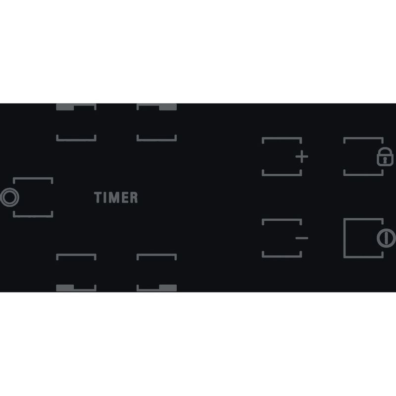 Hotpoint-HOB-HR-612-C-H-Black-Radiant-vitroceramic-Control-panel