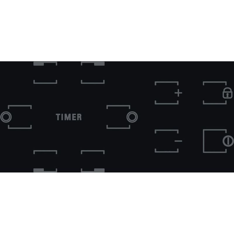 Hotpoint-HOB-HR-724-B-H-Black-Radiant-vitroceramic-Control-panel
