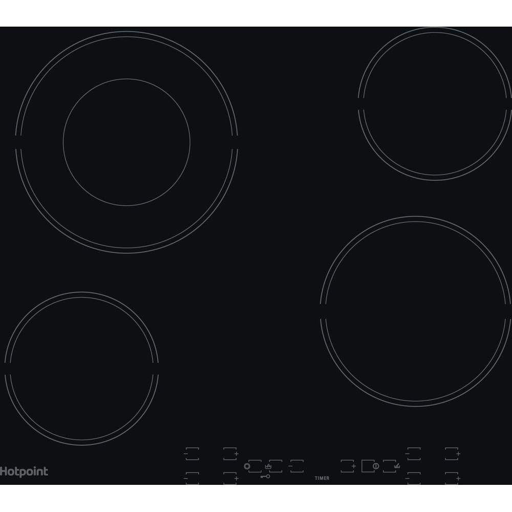 Hotpoint Electric Hob HR 605 B H : discover the specifications of our home appliances and bring the innovation into your house and family.