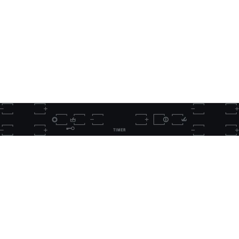 Hotpoint-HOB-HR-605-B-H-Black-Radiant-vitroceramic-Control-panel