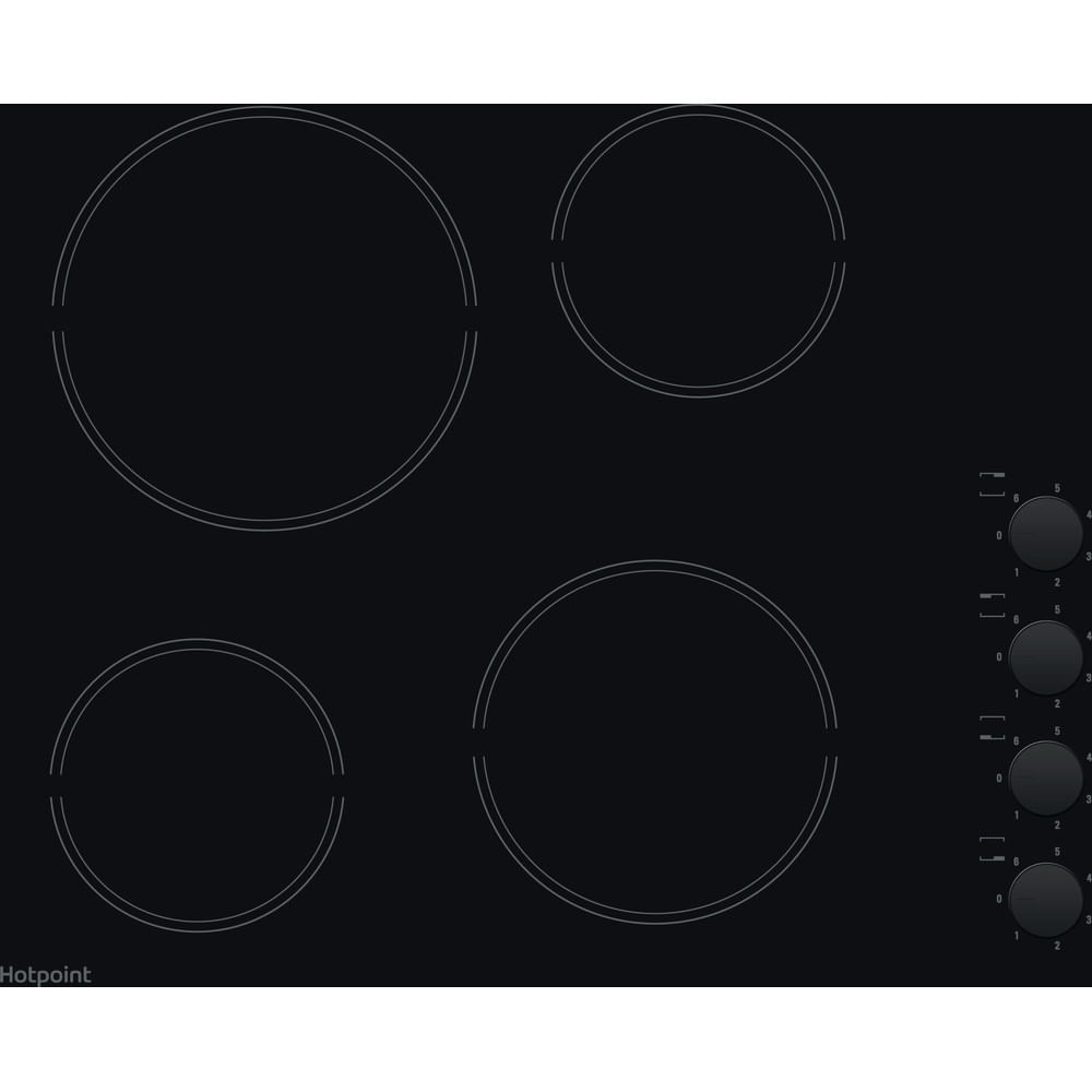 Hotpoint Electric Hob HR 619 C H : discover the specifications of our home appliances and bring the innovation into your house and family.