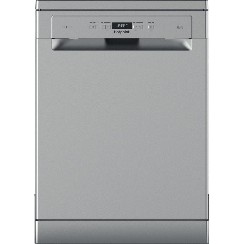 Hotpoint-Dishwasher-Free-standing-HFC-3C26-X-UK-Free-standing-A-Frontal