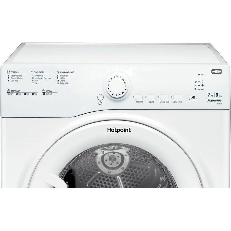 Hotpoint-Dryer-TVFS-73B-GP.9-UK-White-Control_Panel