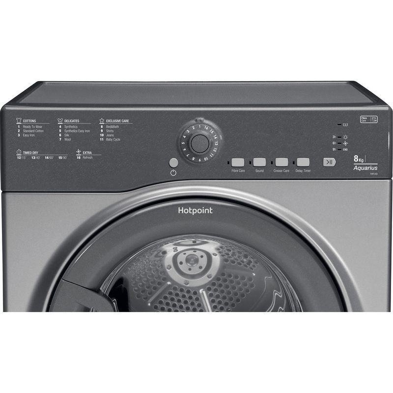 Hotpoint-Dryer-TVFS-83C-GG.9-UK-Graphite-Control_Panel