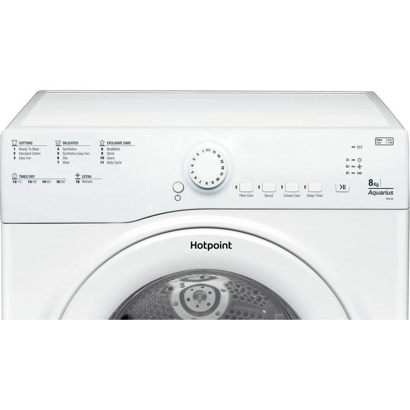 Hotpoint-Dryer-TVFS-83C-GP.9-UK-White-Control_Panel