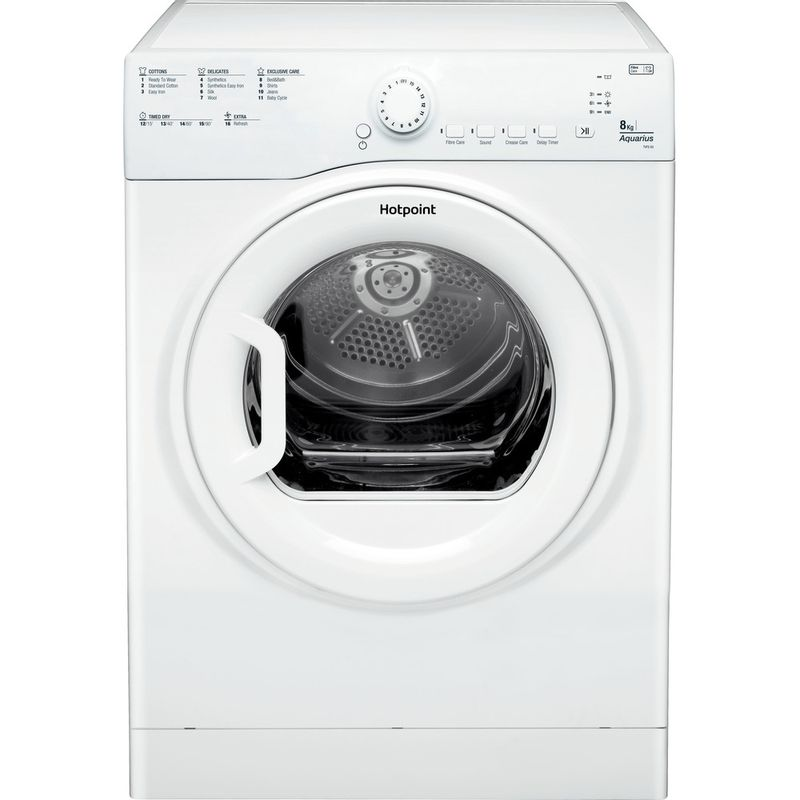 Hotpoint-Dryer-TVFS-83C-GP.9-UK-White-Frontal