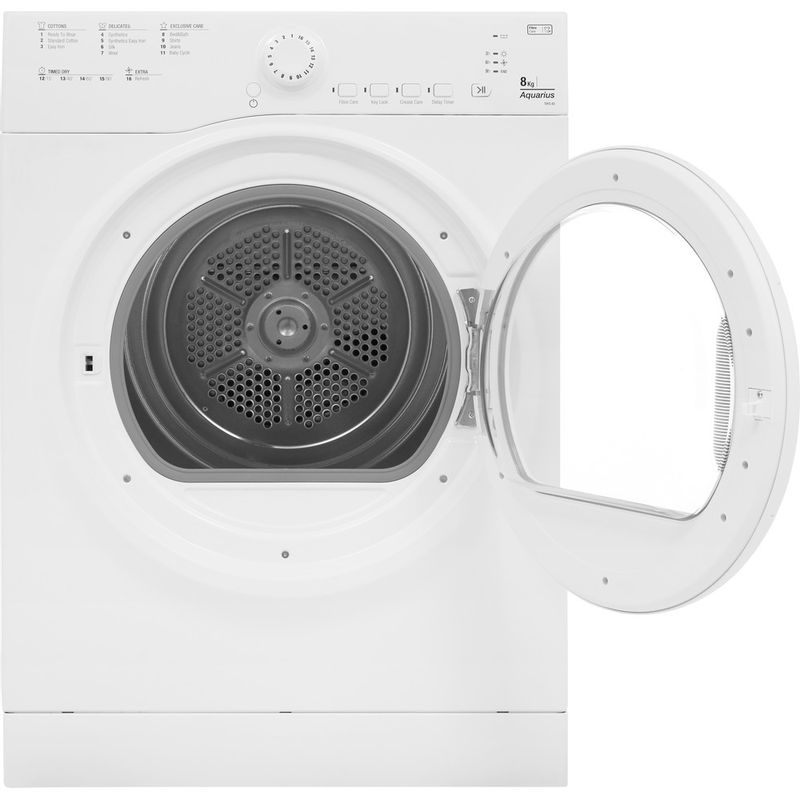Hotpoint-Dryer-TVFS-83C-GP.9-UK-White-Frontal_Open