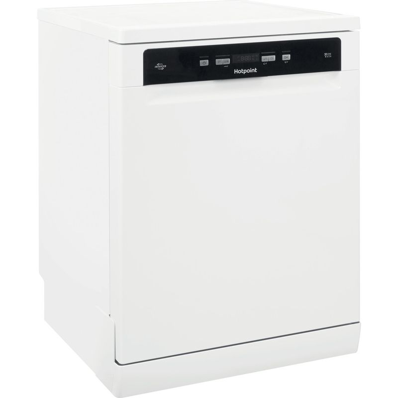 Hotpoint-Dishwasher-Free-standing-HDFO-3C24-W-C-UK-Free-standing-A-Perspective