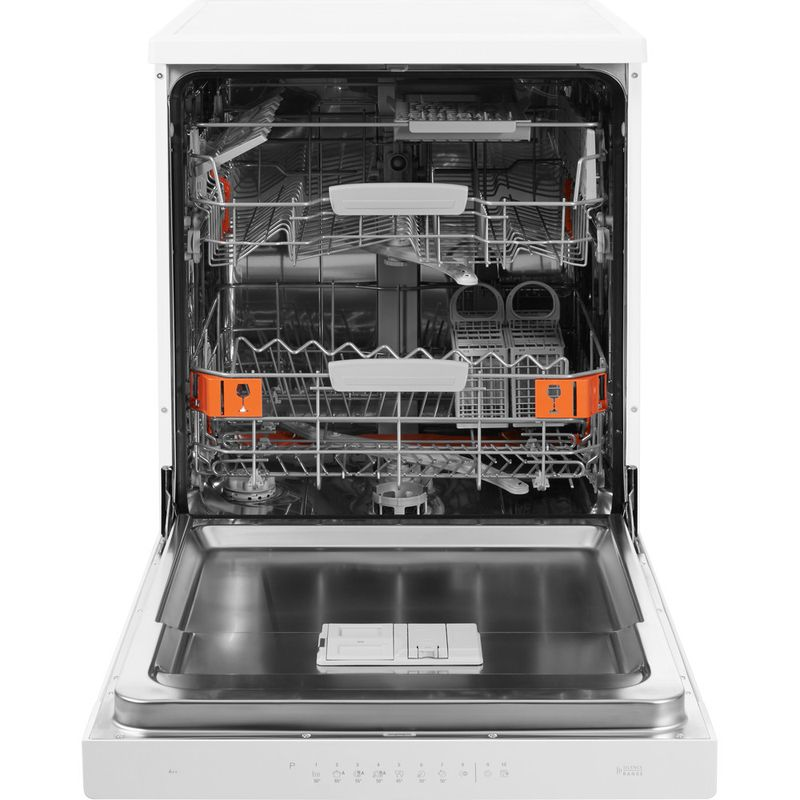 Hotpoint-Dishwasher-Free-standing-HDFO-3C24-W-C-UK-Free-standing-A-Frontal_Open