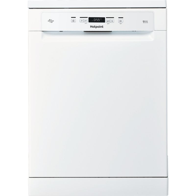 Hotpoint-Dishwasher-Free-standing-HFO-3T222-WG-UK-Free-standing-A-Frontal
