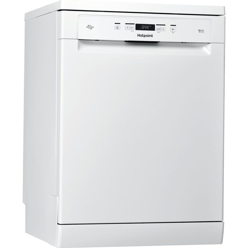 Hotpoint-Dishwasher-Free-standing-HFO-3T222-WG-UK-Free-standing-A-Perspective
