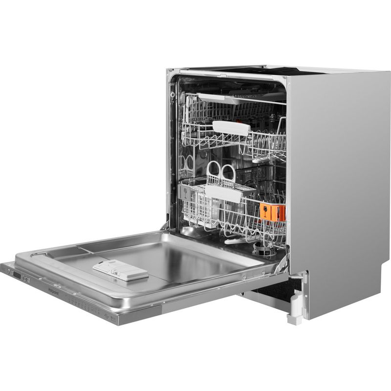 Hotpoint-Dishwasher-Built-in-HIO-3T221-WG-C-E-UK-Full-integrated-A-Perspective-open