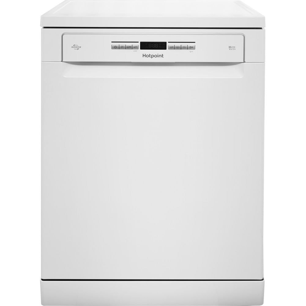 Hotpoint Freestanding Dishwasher HFO 3P23 WL UK : discover the specifications of our home appliances and bring the innovation into your house and family.