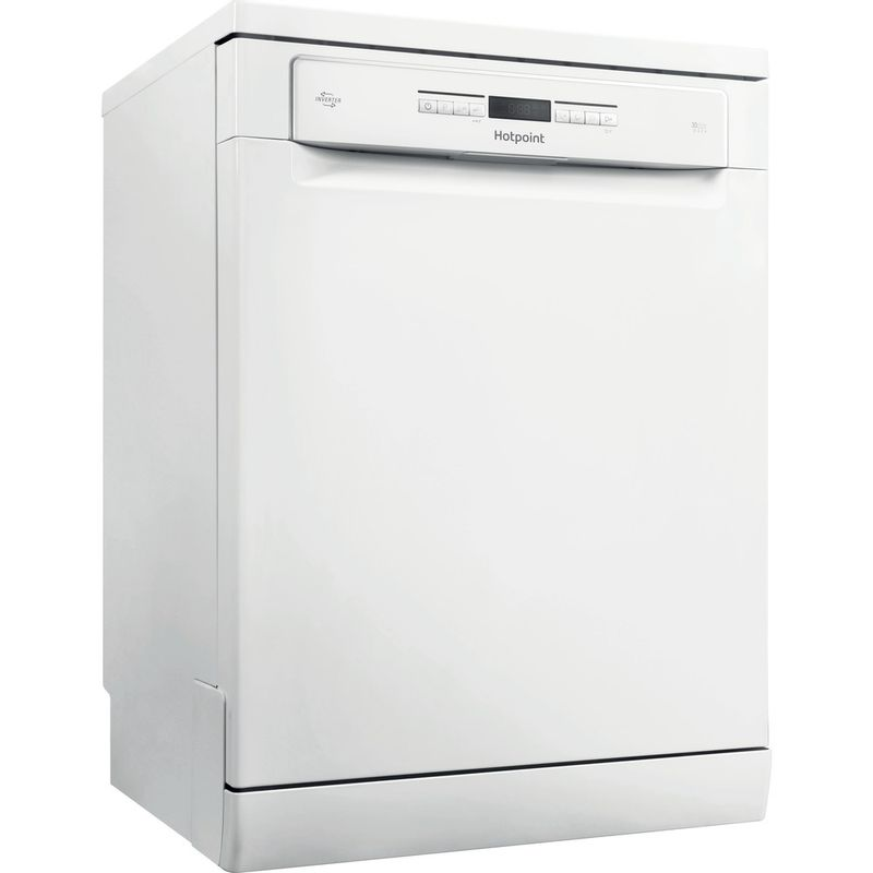 Hotpoint-Dishwasher-Free-standing-HFO-3P23-WL-UK-Free-standing-A-Perspective