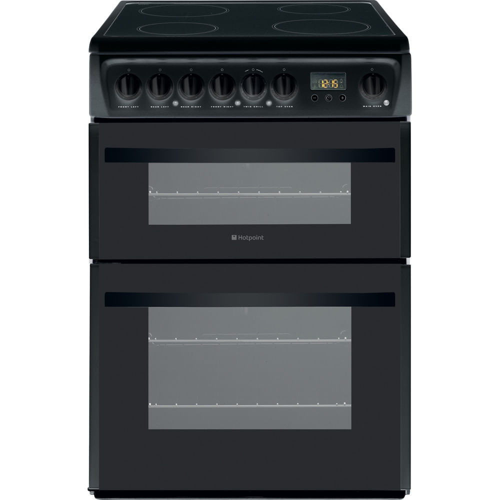 Hotpoint Double Cooker DCN60K : discover the specifications of our home appliances and bring the innovation into your house and family.