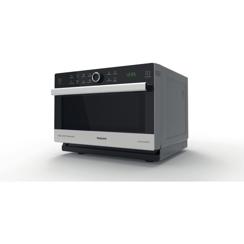 Hotpoint-Microwave-Free-standing-MWH-338-SX-Inox-Electronic-33-MW-Combi-900-Perspective