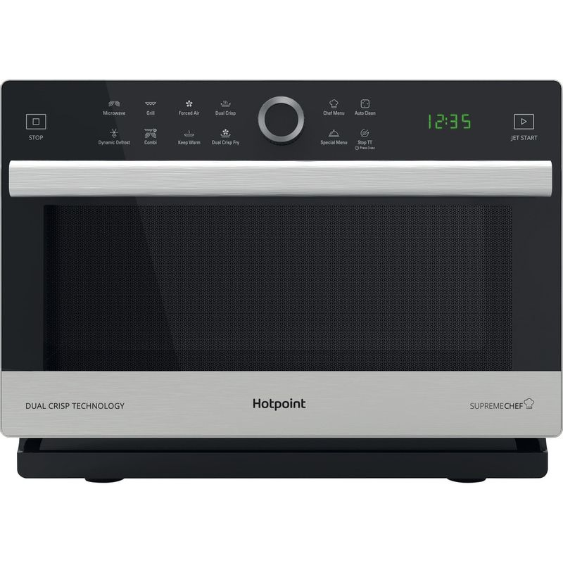 Hotpoint-Microwave-Free-standing-MWH-338-SX-Inox-Electronic-33-MW-Combi-900-Frontal
