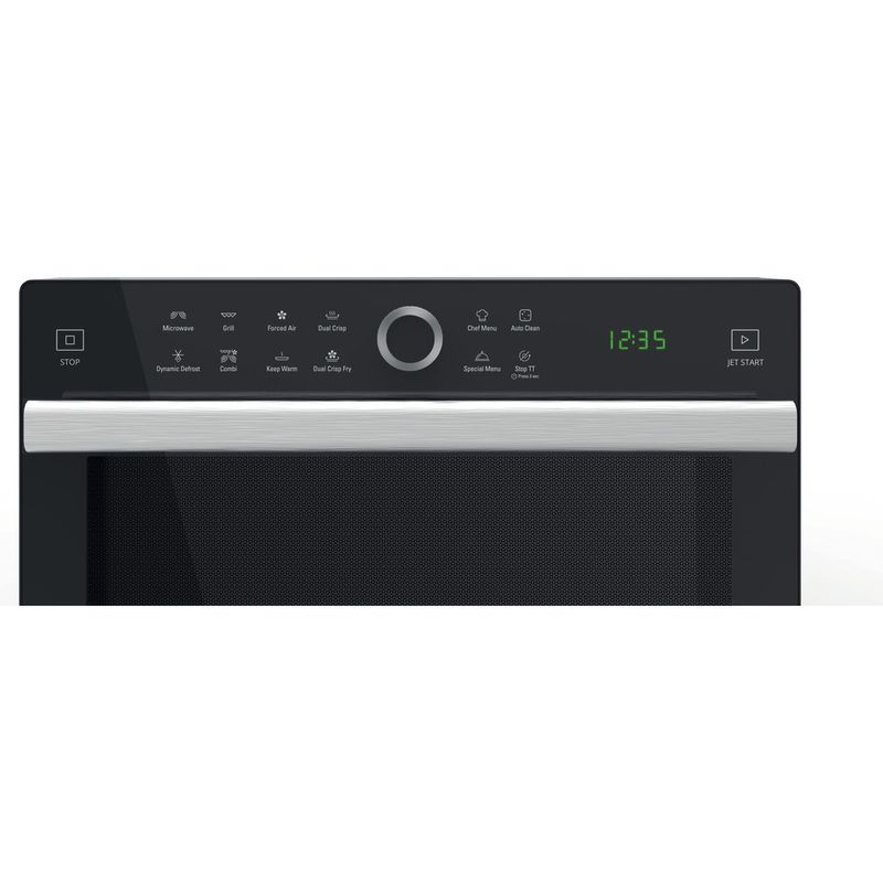 Hotpoint-Microwave-Free-standing-MWH-338-SX-Inox-Electronic-33-MW-Combi-900-Control-panel