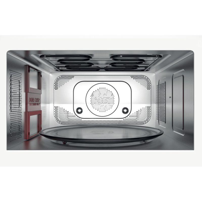 Hotpoint-Microwave-Free-standing-MWH-338-SX-Inox-Electronic-33-MW-Combi-900-Cavity