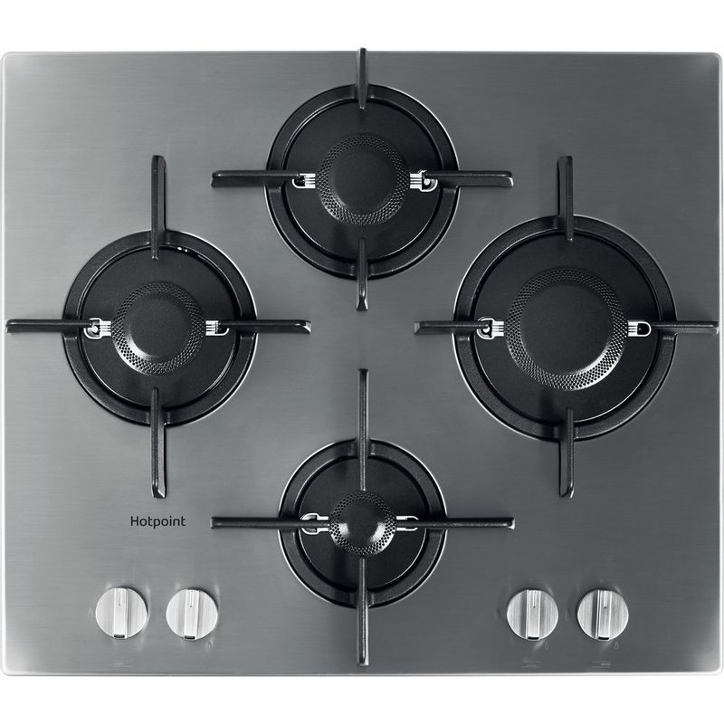 Hotpoint-HOB-FTGHL-641-D-IX-H-Stainless-steel-GAS-Frontal