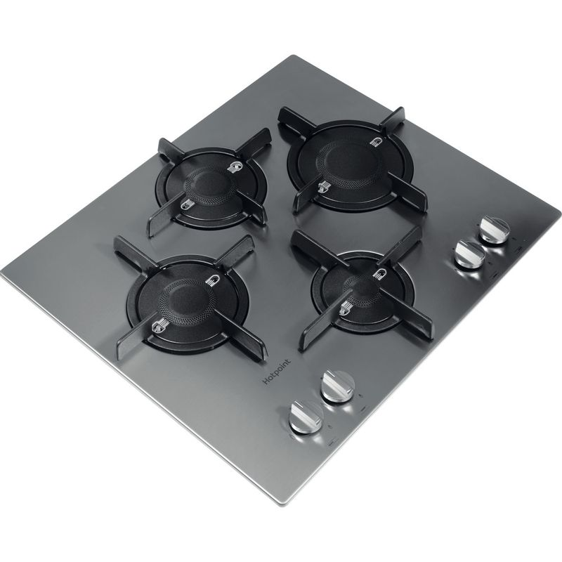 Hotpoint-HOB-FTGHL-641-D-IX-H-Stainless-steel-GAS-Perspective