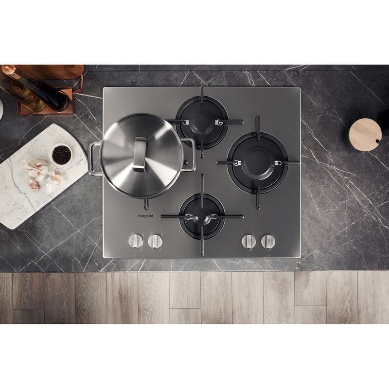 Hotpoint-HOB-FTGHL-641-D-IX-H-Stainless-steel-GAS-Lifestyle-frontal