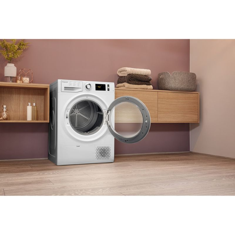Hotpoint-Dryer-NT-M11-82XB-UK-White-Lifestyle-perspective-open