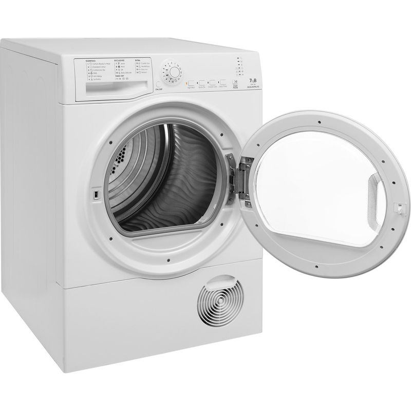 Hotpoint-Dryer-TCFS-73B-GP.9--UK--White-Perspective-open
