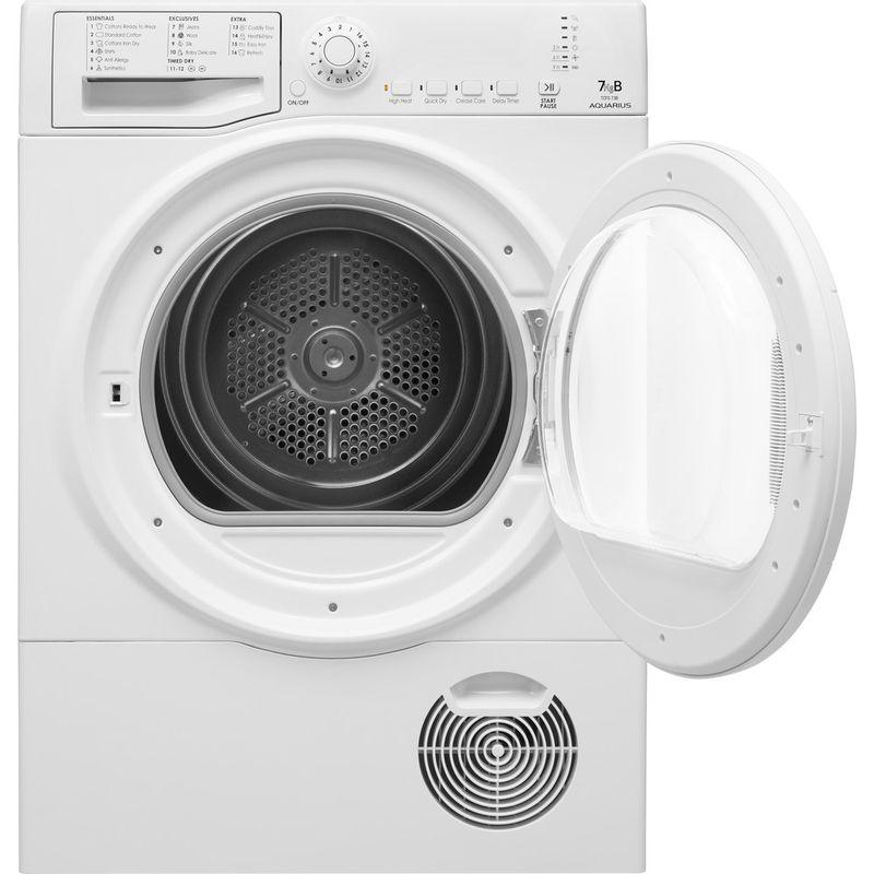 Hotpoint-Dryer-TCFS-73B-GP.9--UK--White-Frontal-open