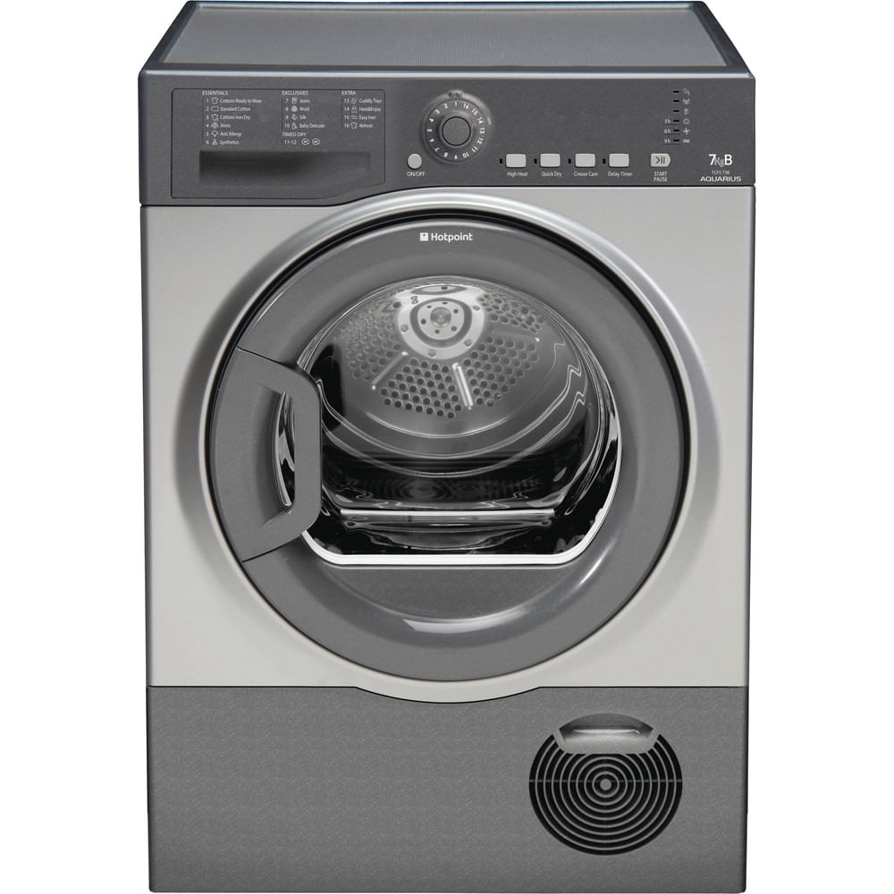 Hotpoint Freestanding tumble dryer TCFS 73B GG.9 (UK) : discover the specifications of our home appliances and bring the innovation into your house and family.