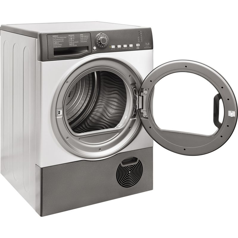 Hotpoint-Dryer-TCFS-73B-GG.9--UK--Graphite-Perspective-open
