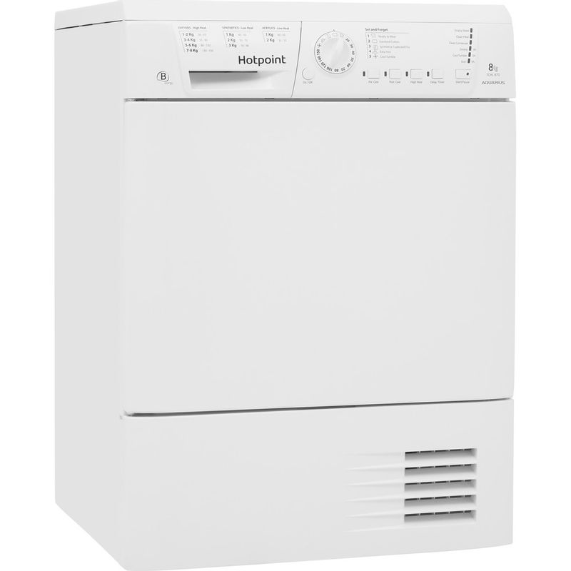 Hotpoint-Dryer-TCHL-870-BP.9--UK--White-Perspective