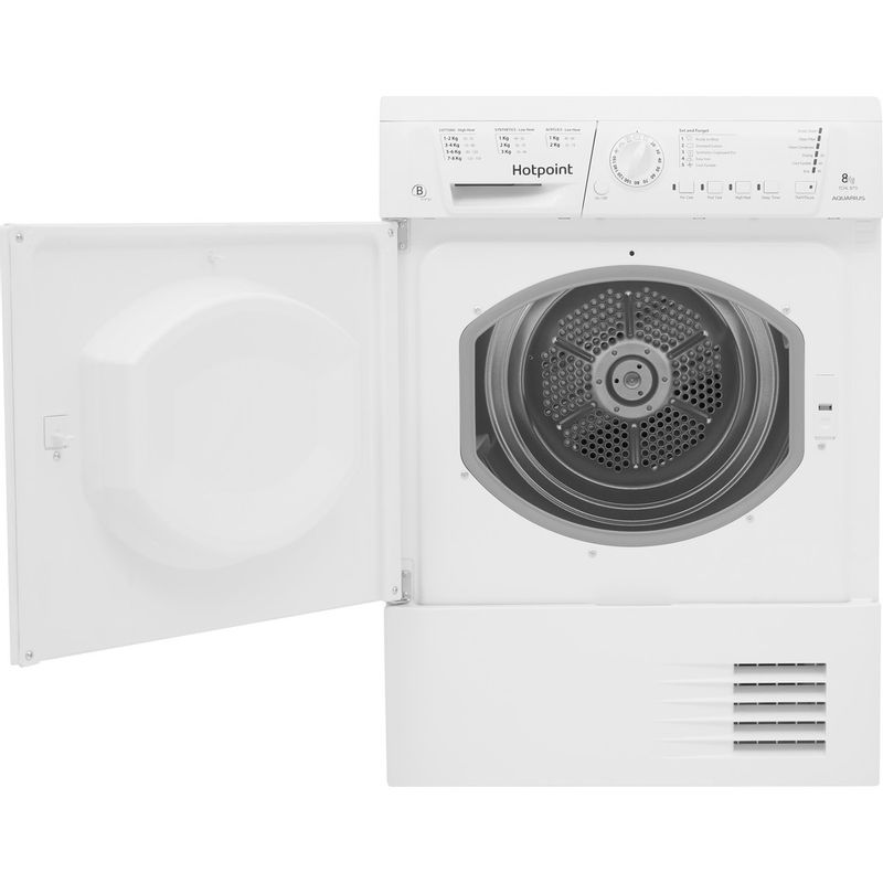 Hotpoint-Dryer-TCHL-870-BP.9--UK--White-Frontal_Open