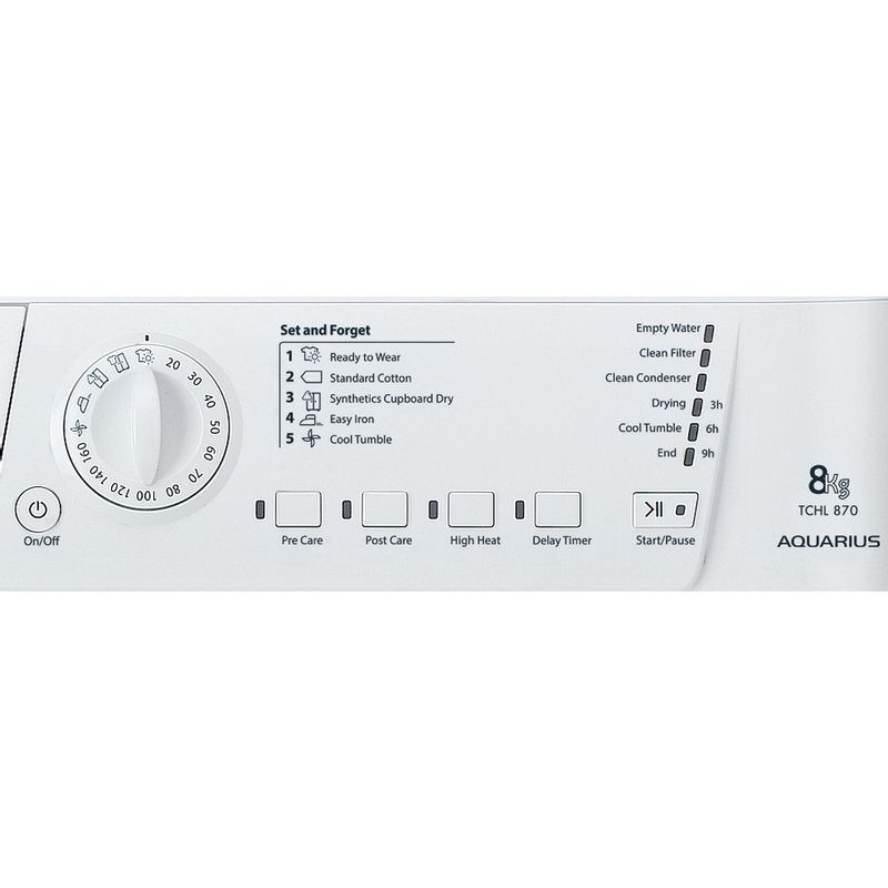 Hotpoint-Dryer-TCHL-870-BP.9--UK--White-Control_Panel