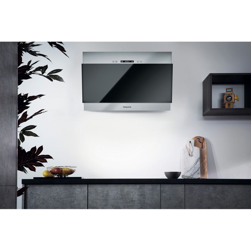 Hotpoint-HOOD-Built-in-PHVP-6.4F-AL-K-1-Black-Wall-mounted-Electronic-Lifestyle-frontal