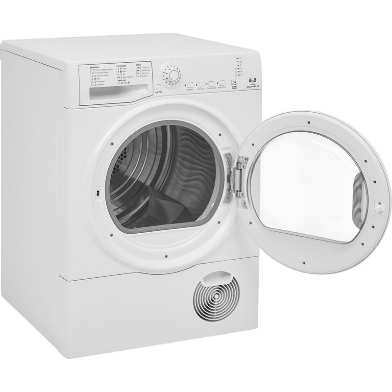Hotpoint-Dryer-TCFS-93B-GP.9--UK--White-Perspective-open