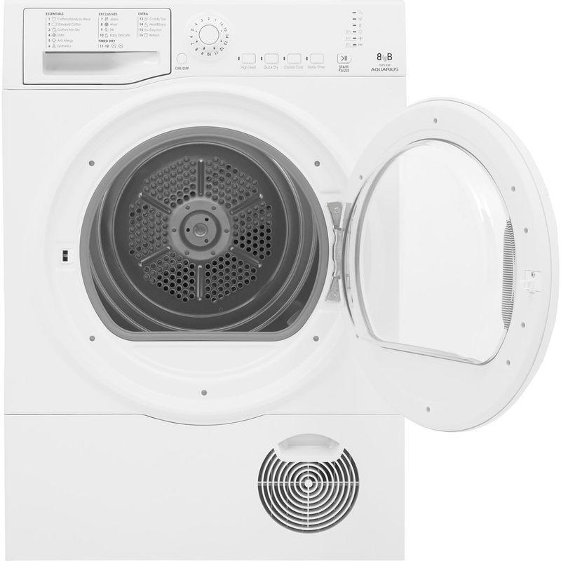 Hotpoint-Dryer-TCFS-93B-GP.9--UK--White-Frontal-open