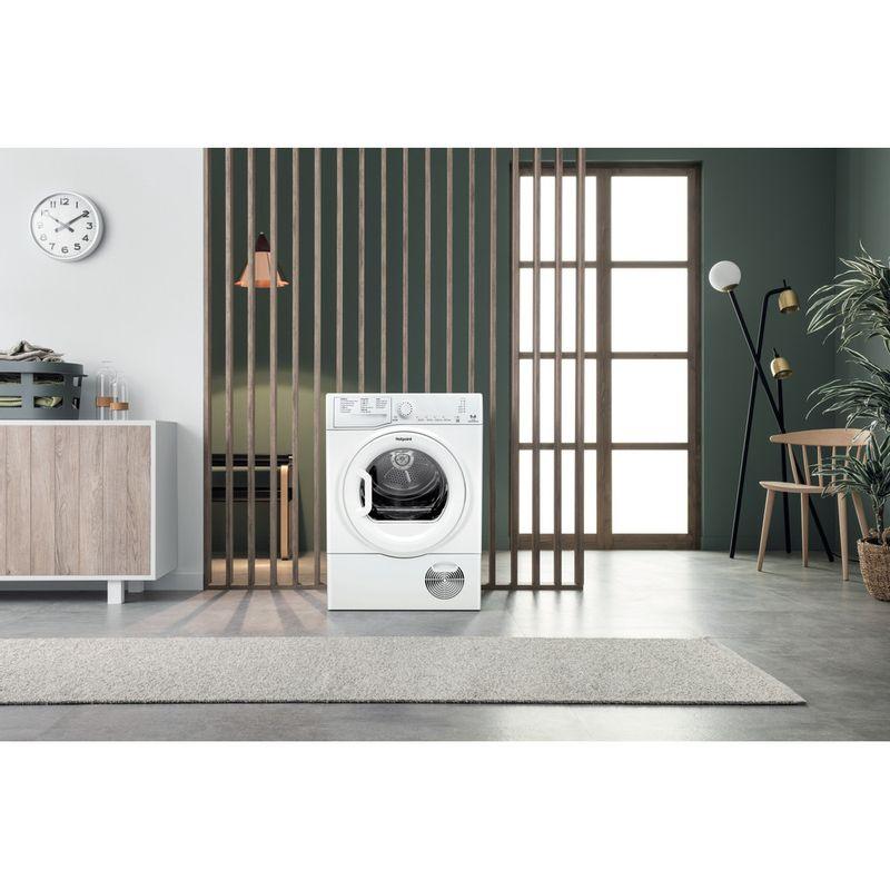Hotpoint-Dryer-TCFS-93B-GP.9--UK--White-Lifestyle-frontal