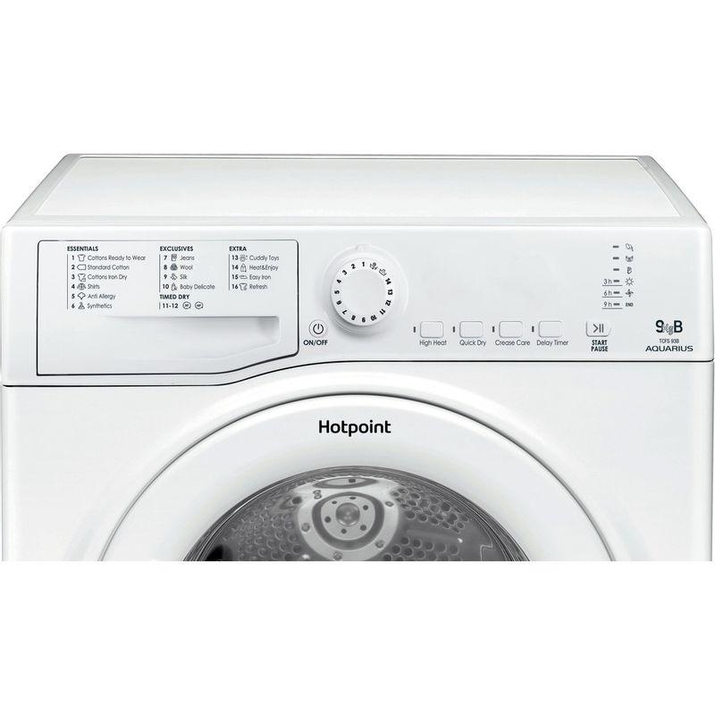 Hotpoint-Dryer-TCFS-93B-GP.9--UK--White-Control-panel