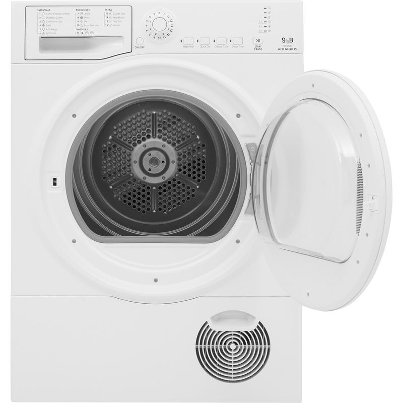 Hotpoint-Dryer-TCFS-83B-GP.9--UK--White-Frontal-open