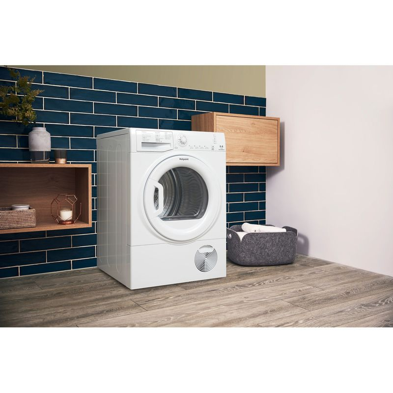 Hotpoint-Dryer-TCFS-83B-GP.9--UK--White-Lifestyle-perspective
