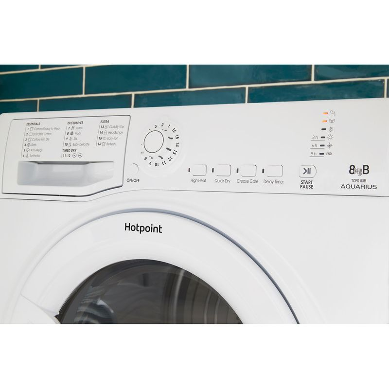 Hotpoint-Dryer-TCFS-83B-GP.9--UK--White-Lifestyle-control-panel