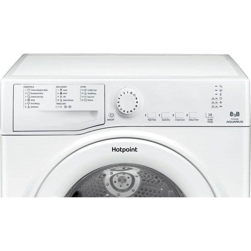 Hotpoint-Dryer-TCFS-83B-GP.9--UK--White-Control-panel