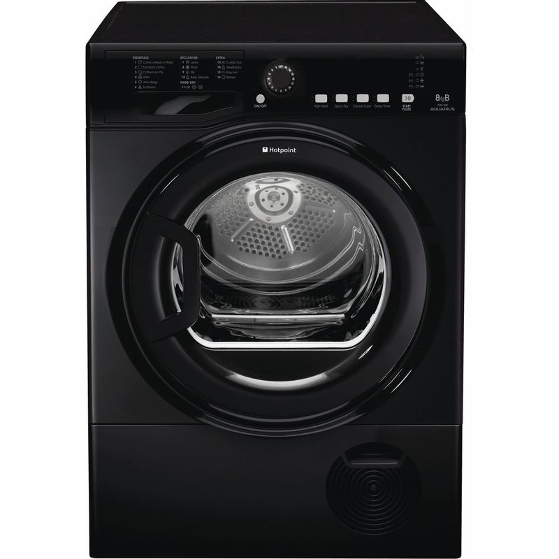 Hotpoint-Dryer-TCFS-83B-GK.9--UK--Black-Frontal