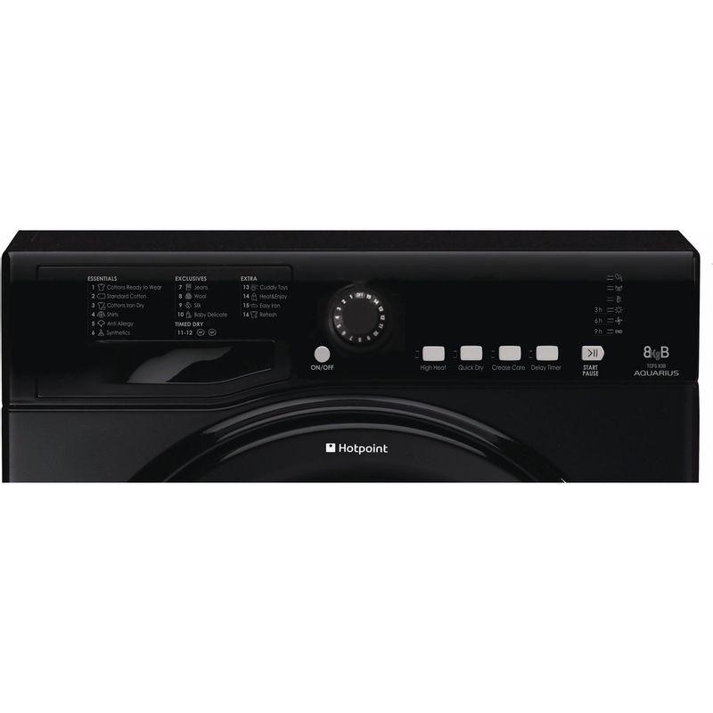 Hotpoint-Dryer-TCFS-83B-GK.9--UK--Black-Control-panel