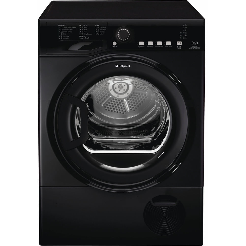 Hotpoint Freestanding tumble dryer TCFS 835B GK.9 UK : discover the specifications of our home appliances and bring the innovation into your house and family.