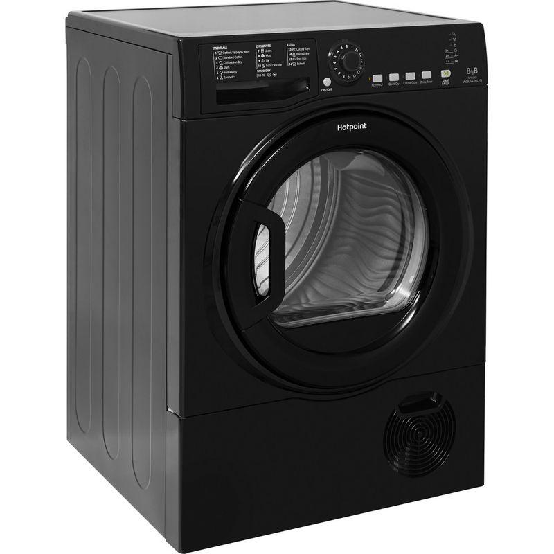 Hotpoint-Dryer-TCFS-835B-GK.9-UK-Black-Perspective