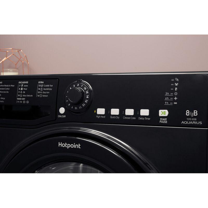 Hotpoint-Dryer-TCFS-835B-GK.9-UK-Black-Lifestyle-control-panel